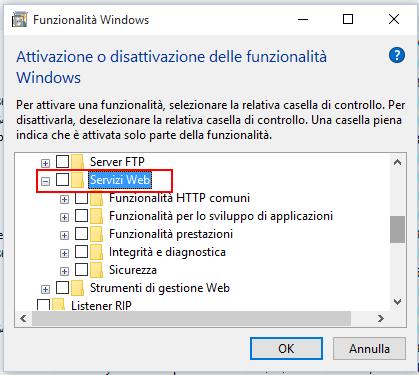 FunzionalitaWindows